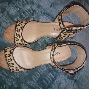 VANELI leopard print sandals